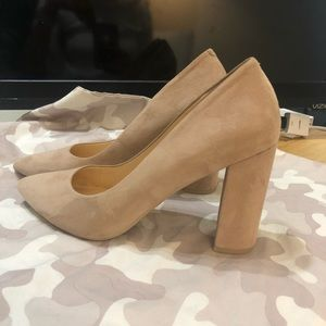 Nine West Suede Block heel